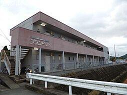 三重県多気郡多気町相可の賃貸アパートの外観