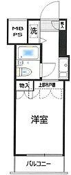 東京都世田谷区松原3丁目の賃貸マンションの間取り