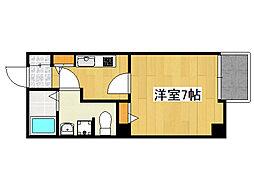 ベルシモンズ桜川[10階]の間取り
