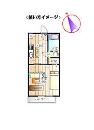 絵馬DOME[2階]の間取り