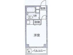 カサヴェール桜ケ丘[7階]の間取り