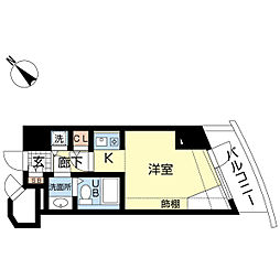 新潟ダイカンプラザ遊学館[812号室]の間取り