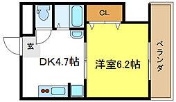 平野駅 4.4万円