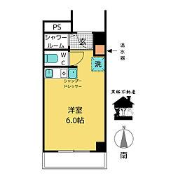 栄マンションS棟[2階]の間取り