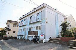 山口県下関市長府日の出町の賃貸アパートの外観