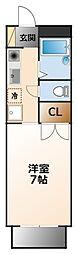 ルフロン甲子園[2階]の間取り