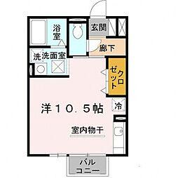 エポックシーマ[105号室号室]の間取り