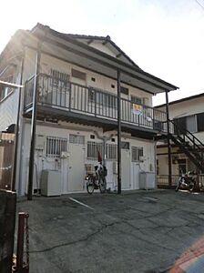 外観,2K,面積25m2,賃料3.0万円,,,高知県高知市神田