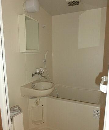 洗面台付浴室