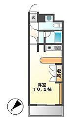 ドゥーエ大須(旧メゾン・ド・ヴィレ大須)[6階]の間取り