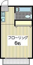 ハイツシティB[2階]の間取り
