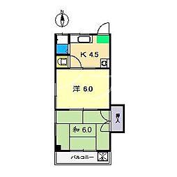 MKマンション(瀬戸)[1階]の間取り