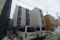 北海道札幌市西区西町南2丁目の賃貸マンションの外観