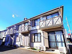 埼玉県所沢市中富南3丁目の賃貸アパートの外観