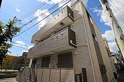 兵庫県神戸市灘区新在家南町5丁目の賃貸アパートの外観