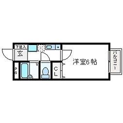 一刻館[2階]の間取り