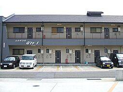 和歌山県御坊市湯川町富安の賃貸アパートの外観