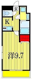 金太郎ヒルズ18[2階]の間取り