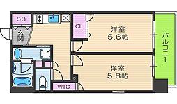 EP福島ジェネル[3階]の間取り
