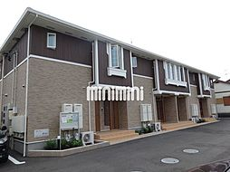 静岡県焼津市三右衛門新田の賃貸アパートの外観
