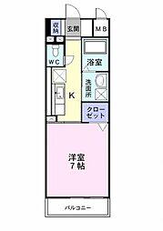 プレ・アビタシオン春日部I[5階]の間取り