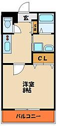 ル・シエル錦ヶ丘[3階]の間取り