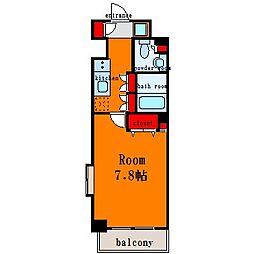 清澄白河レジデンス弐番館[2階]の間取り