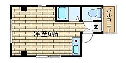 兵庫県神戸市長田区御蔵通1丁目の賃貸マンションの間取り