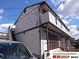 千葉県船橋市前原東2丁目の賃貸アパートの外観