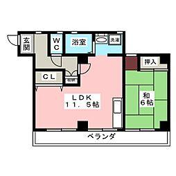 近藤ビル[3階]の間取り