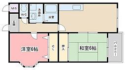 エクシードSS[3A号室]の間取り