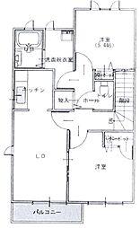 静岡県静岡市葵区羽鳥5丁目の賃貸アパートの間取り