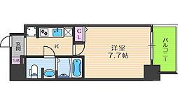 レオンヴァリエ福島野田[3階]の間取り
