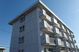 愛知県岡崎市上和田町字切戸の賃貸マンションの外観