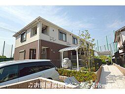 大阪府枚方市山之上北町の賃貸アパートの外観