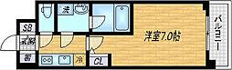 大阪府大阪市淀川区加島3丁目の賃貸マンションの間取り
