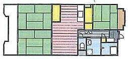 ビレッジハウス芝浦[310号室]の間取り