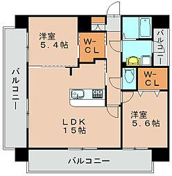YGM箱崎駅前I[3階]の間取り