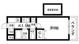 ステラハウス4−500[527号室]の間取り
