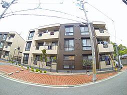 兵庫県西宮市岡田山の賃貸アパートの外観