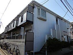 東京都世田谷区羽根木2丁目の賃貸アパートの外観