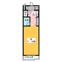 ソレーユI[3階]の間取り