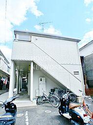 京都府京都市上京区新夷町の賃貸アパートの外観