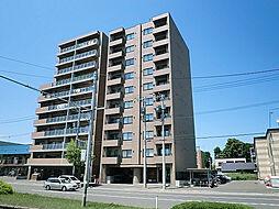 北海道札幌市東区北十五条東4丁目の賃貸マンションの外観