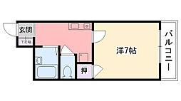 リッチライフ甲子園10[308号室]の間取り