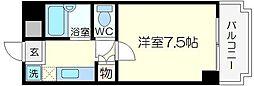 ジャルダン新大阪[3階]の間取り