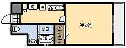 メゾンド・ナカシマ[401号室]の間取り