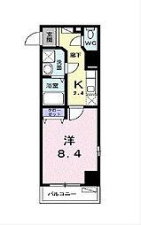 ログコートII[4階]の間取り