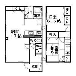 [一戸建] 北海道札幌市東区北二十二条東23丁目 の賃貸【/】の間取り