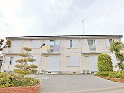 千葉県東金市南上宿の賃貸アパートの外観